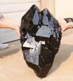 116lb Natural black skeletal Elestial Rutilated QUARTZ Crystal Mineral Specimen