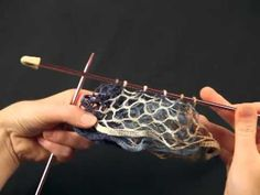 Crocheting with Starbella yarn video ( scarf)