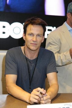 Stephen Moyer at the True Blood signing at Comic Con 2012