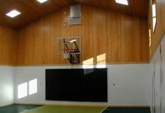 Private Indoor Basketball Court   Woodworkingguides.info