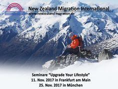 Auswandern Neuseeland - Srminare in November 2017 #auswandern #neuseeland New Zealand, Mount Everest, Maine, November, Explore, Mountains, Nature, Travel, Things To Do