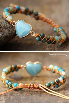 African Turquoise and stainless steel cable bracelet made to order 6.5-8.5 inch long