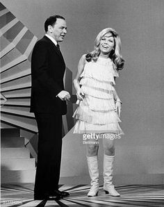 Frank Sinatra And His Daughter Nancy Sinatra Perform On The Television Special A Man And His Music Nancy S Trademark S Nancy Sinatra Frank Sinatra Tina Sinatra