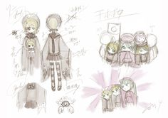 "Hatsune Miku's ""Senbonzakura"" Concept Art | 「お祝い&千本桜・設定書」/「一斗まる」の漫画 [pixiv] [07]"