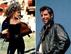 Olivia Newton John and John Travolta in Grease, 1978
