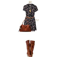 """Tricky Trend: Over-the-Knee Boots"" by angela-windsor on Polyvore"