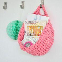 Image of Panier en crochet