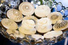 Gorgeous wedding cookies