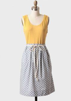 Polkadot dress via Shop Ruche