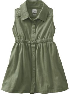 Old Navy | Button-Front Jersey Dresses for Baby