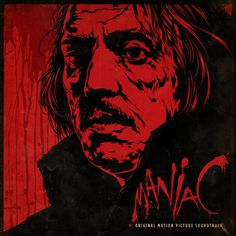 Maniac LP album from Mondo. Artwork WAS from poster created by artist Ken Taylor. SO AWESOME!