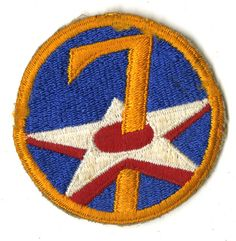 Shoulder Patch, 7th Air Force