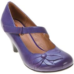 Buy Purple Whisky Black Red Miz Mooz Women's Petal Mary Jane Pump Shoe shoes | Purple or Whiskey... LOVE!
