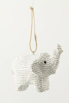 Anthropologie Christmas ornament by dixie