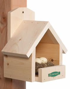 Free Shelf Bracket Patterns | Home > Bird Houses > All Bird Houses > Duncraft Cardinal Bird House