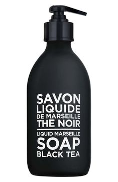 Compagnie de Provence Liquid Marseille Soap (Various Options) - Black Tea Provence, Marseille Soap, Liquid Soap Making, Savon Soap, French Brands, Hand Lotion, Fragrance Parfum, Hand Cream, Spray Bottle