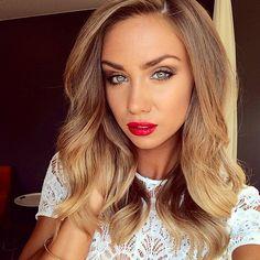 Gorgeous mid-length light brown hair @lisaolssonblog on instagram