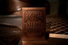 Steampunk Playing Cards by Alex Beltechi, via Behance