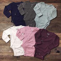NEW Organic Cotton Kimono Onesies!  spearmintLOVE.com
