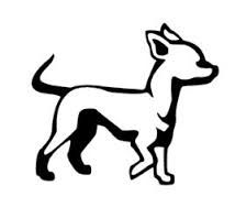 chihuahua drawing outline - Google Search