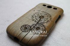samsung galaxy s3 case  walnut wood galaxy s3 case  by SamuraiCase, $29.99