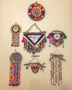 23 Clever DIY Christmas Decoration Ideas By Crafty Panda Home Crafts, Diy Home Decor, Diy And Crafts, Arts And Crafts, Paper Crafts, Ramadan Crafts, Ramadan Decorations, Crochet Wall Hangings, Fabric Jewelry