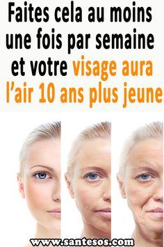 Faites cela au moins une fois par semaine et votre visage aura l'air 10 ans plus jeune #recettebeauté #diybeauté #soinvisage #soinsdelapeau #peau Diy Beauté, Healthy Tips, Good Skin, Skin Care Tips, National Parks, Gardens, Pharmacy, Under Eye Wrinkles, Skin Care Remedies
