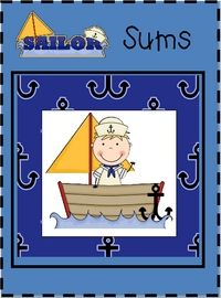 Sailor Sums math game. kiddos could totally do the smaller numbers. find pdf here: http://spa12.wikispaces.com/file/view/Sailor-Sums-Addition-Game.pdf/348718760/Sailor-Sums-Addition-Game.pdf