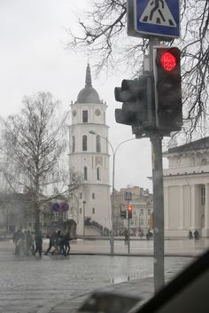 Rainy days in Vilnius