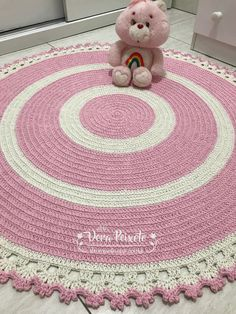 New crochet basket free patterns baby blankets ideas Baby Blanket Crochet, Crochet Baby, Knit Crochet, Crochet Doilies, Crochet Stitches, Baby Patterns, Crochet Patterns, Knit Rug, Knitting Accessories