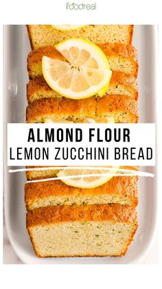 This Healthy Lemon Zucchini Bread is super moist, lemon-y, sweet and so soft. This easy recipe will blow your mind! Great for dessert and healthy enough for breakfast or snack.