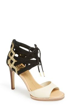 Loving this tri-tone heel from DV Dolce Vita. Great mix of trend and classic! Danilo Sandal -- $89 and free shipping!