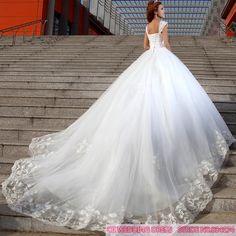 Cii Primavera coreano arrastando diamante vestido de casamento do laço de noiva princesa Bra 150.00