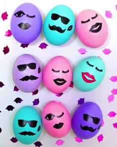 DIY Kiss Kiss Wink Wink Easter Eggs! ⋆ Brite and Bubbly