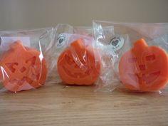 SPICED PUMPKIN - PUMPKIN HANDMADE SOAPS. £2.75