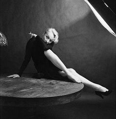 Marlene Dietrich so sultry, by Milton H. Greene