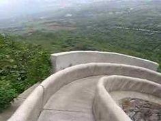 A slide down a lovely mountain...Kinda slow, but it still looks fun