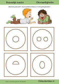 Citovaardigheden voor kleuters, kleuteridee ,ruimtelijk inzicht cirkel , rekenen voor kleuters, free printable