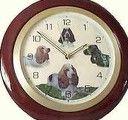 English Springer Spaniel clock