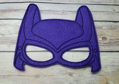 BAT Batman Lego película máscara Favor fiesta vestido de niña