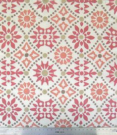 Fabric Half Yard  Hand Printed Linen by JaneForrester on Etsy, $48.00 -- I wonder how hard this is to do ??