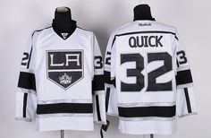 f65260242 Los Angeles Kings 32 Jonathan QUICK Road Jersey