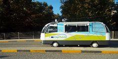 Τρίκαλα: Καβάλησε πεζοδρόμιο το CityMobil2 Van, Vehicles, Rolling Stock, Vans, Vehicle