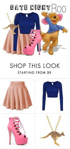 """""""Roo~ DisneyBound"""" by basic-disney ❤ liked on Polyvore featuring LE3NO and Animal Planet"""