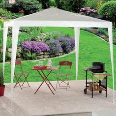 Tonnelle ou tente de jardin blanche 2,4 x 2,4 m  !!!!! Il en reste plus que deux. Prix 16.90€