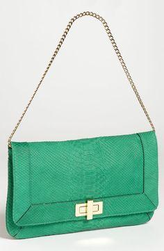 Milly Shoulder Bag in Jade