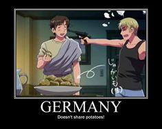 Germany DOESN'T share potatoes by MaraCroft3.deviantart.com on @deviantART