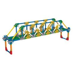 K'NEX® Education Introduction to Structures Bridges Set Activities For Kids, Crafts For Kids, Lego Trains, Maker Space, School Stuff, Engineering, Science, Education, Diy