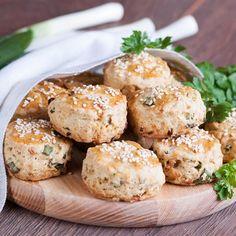 Biscuits salés maison aux oignons