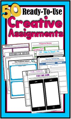 Gone are the days of boring book reports and reading responses! This multi-faceted resource provides fun ready-to-use assignments that will work for any novel or short story.